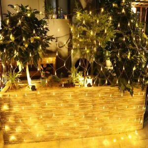 2M*3M/4M*6M LED Net Fairy Lights Mesh Lighting Christmas Tree Party Garden 24V