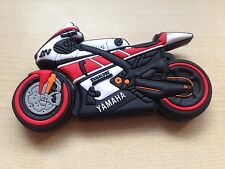 1 New Novelty Red, White & Black Motorbike, 128MB USB Flash Drive Memory Stick