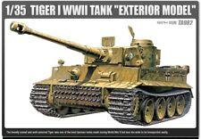 Academy 1/35 Plastic Model Kit TIGER-I WWII Exterior Model TA982 13264 NIB