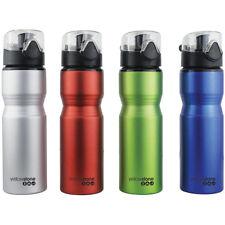 Yellowstone Large 750ML Aluminium Sports Hydration Water Bottle Ergonomic