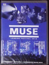 MUSE LONDON FESTIVAL 2012 DVD LIVE - 2014 NEW SEALED BRAZIL MEGA RARE