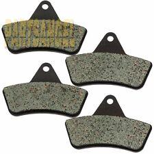 F+R Kevlar Carbon Brake Pads For 1998-2004 2000 2001 2002 ARCTIC CAT 300 2x4 4x4