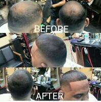 Hairline Enhancement Hair illusion Hair Thickening Fibers For Bald Spot Cover Up