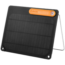 BioLite Solar Panel 5 Portable Real-Time Charger Camping Hiking Outdoor Black