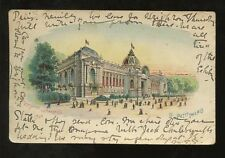 French Posted Collectable Exhibition Postcards
