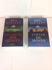 Ken Follet Le Siècle Tomes 1 Et 2 La Chute Des Géants - L'hiver Du Monde