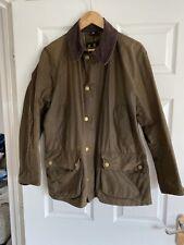 barbour wax jacket medium