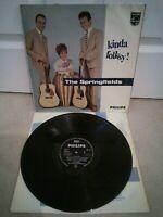 "The Springfields – Kinda Folksy Vinyl 12"" LP BBL 7551 1962"