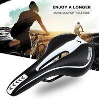 Carbon Fiber Bicycle Saddle Racing Road MTB Race Bike Seat Cycling Cushion Pad