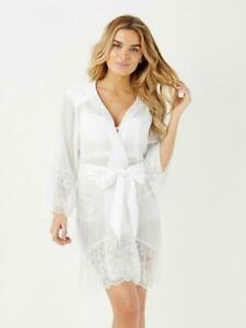 SALE!!! Ann Summers LIPSY Wedding Sexy Lingerie Robe MEDIUM Designer Underwear