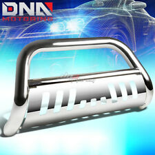 FOR 14-16 HIGHLANDER XU50 SUV STAINLESS STEEL CHROME BULL BAR PUSH GRILL GUARD