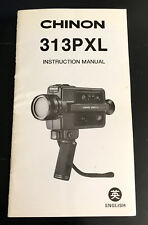 Original Chinon 313PXL Instruction Manual