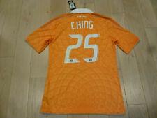 NWT Adidas 11/12 Houston Dynamo #25 Ching Authentic Formotion Orange Jersey L