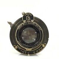 Vintage Kodak Anastigmat 170mm F7.7 Folding bellows Camera Lens Shutter [JC]