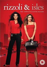Rizzoli & Isles Complete Series 6 DVD All Episodes Sixth Season Original UK NEW