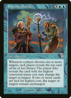 1X FOIL Psychic Battle MTG Magic the Gathering INVASION 68/350