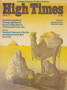 High Times Magazine Fourth Issue - Spring '75