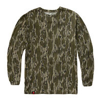Mossy Oak Cotton Mill Long Sleeve Cotton Camo Tee