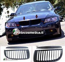 GRIGLIA NERA Per BMW SERIE 3 E90 E91 05-08 Calandra SPORTIVA