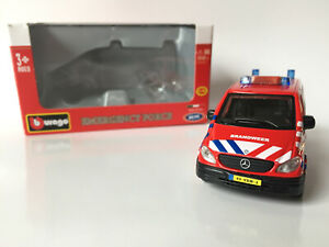Mercedes-Benz Vito - 1/50 Burago Emergency Force - Netherlands Brandweer Fire