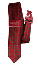 NEW American Traditions Novelty Holiday Christmas Tree Necktie