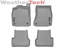 WeatherTech Car Floor Liner for Audi A6/S6/A7/S7/RS7 - 1st & 2nd Row - Grey