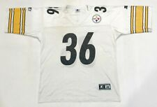 Vintage Starter NFL Pittsburgh Steelers BETTIS #36 Football Jersey 48 L Sz White