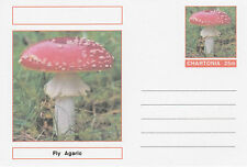 CINDERELLA - 3980 - FUNGI - FLY AGARIC  on Fantasy Postal Stationery card