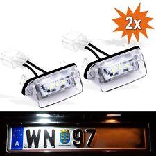 LED Kennzeichenbeleuchtung Peugeot 206 207 307 308 406 407 5008 Partner Tepee