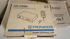 Vintage Pioneer CD-VC50 Voice Control Disc Selector New in Box! FAST FREE S&H