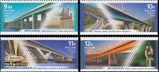 2010 Russia Bridges Girder bridges MNH