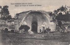 * TIVOLI - Villa Adriana - Avanzi del Tempio di Serapide sul Canopo