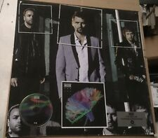 MUSE - THE 2ND LAW - PLATIN DISC ALBUM in ITALY - WARNER MUSIC ITALY 50X50 PLEXI