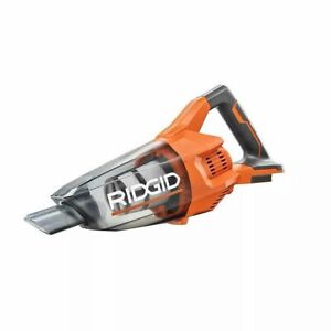 RIDGID R860902B Cordless Hand Vacuum (Tool Only) with Crevice Nozzle