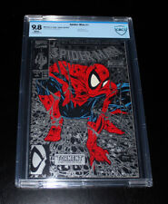 Spiderman 1  CBCS 9.8 NM-MT (1990) Silver Variant Cover (Todd McFarlane)
