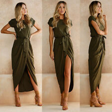 Women Summer Boho Long Maxi Dress Evening. Cocktail Party Beach Dresses Sundress