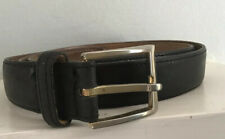Bench Craft Canada Men's Black Soft Leather Belt 34in
