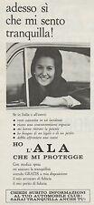 J0564 Automobile Club - Ho l'ala che mi protegge - Pubblicità - 1967 Vintage Ad