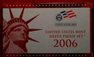 Uncirculated 2006 United States Silver Proof Set