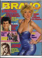 BRAVO Nr.7 vom 8.2.1979 mit Riesenposter Village People, Elvis Presley, Styx...