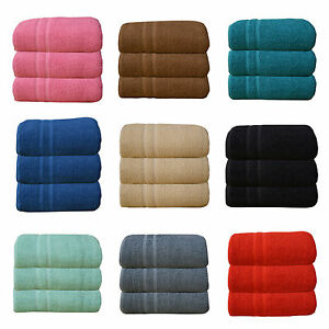 3X  SUPER JUMBO BATH SHEETS BIG  Egyptian Combed Towel EXTRA LARGE Size