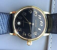 Montblanc Meisterstuck Ref. 7004 Men's Watch, #CC24196, 18k Yellow Gold Plated