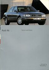 Audi A6 Saloon & Estate 1994-95 UK Market Sales Brochure 2.0 2.6 2.8 Quattro TDi