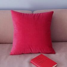 Cushion Cover Throw Pillow Case Hotsale Decor Square Rose Red Candy Colors PJ107