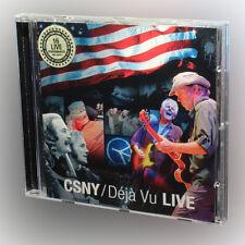 Crosby, Stills & Nash - Déjà Vu Live - music cd album