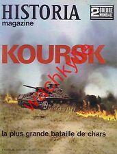 Historia magazine ww2 n°52 Koursk bataille de chars Blindés