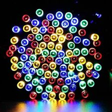 22M LED Solar Powered Fairy String Lights Waterproof Garden Party Warm White