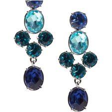 Banana Republic Women's Bold Chandelier Earrings NWT 58 Blue
