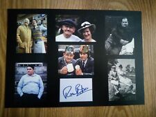 More details for ronnie barker signed photo montage  print *ltd to 20 with numbered coa*