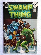 Swamp Thing 6 VF-  Wrightson 1973 GLOSSY